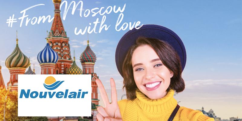 Nouvelair : Les vols les moins chers à booker pour vous évader à Moscou
