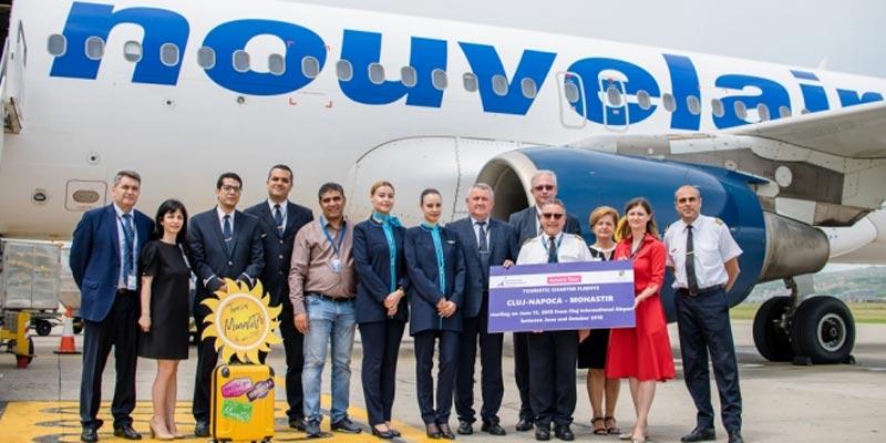 Inauguration des vols charters vers la Tunisie à l'Aéroport international de Cluj-Napoca en Roumanie