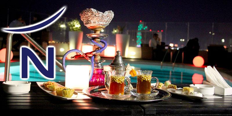 Les soirées de Ramadan au Centre ville au Sky Lounge du Novotel Tunis