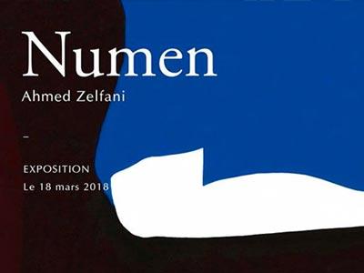 Vernissage 'Numen' de Ahmed Zelfani le 25 mars à la galerie AGorgi