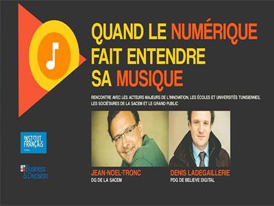 Rencontre : ''Quand le numérique fait entendre sa musique'' le 28 septembre à l'IFT
