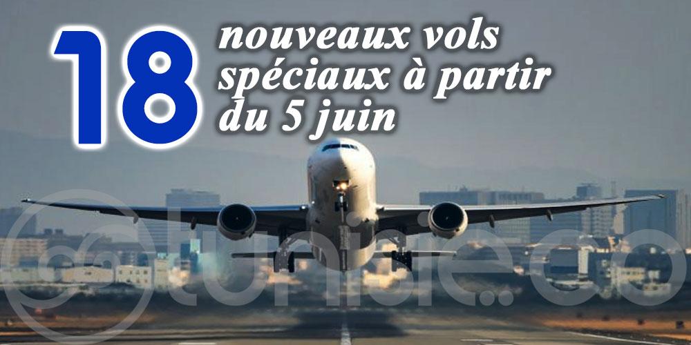 Tunisiens bloqués à l'étranger: 18 nouveaux vols spéciaux à partir du 5 juin