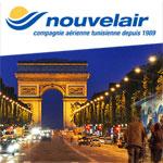Nouvelair lance le Tunis Paris à partir de 327 Dt