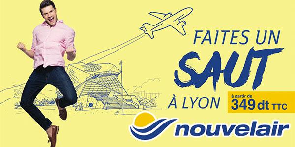 Découvrez les promotions Nouvelair vers 7 destinations à partir de 349 DT TTC
