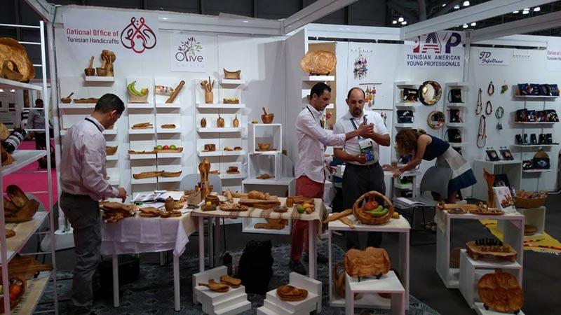 L'artisanat tunisien s'invite au salon professionnel ''Ny Now'' à New York
