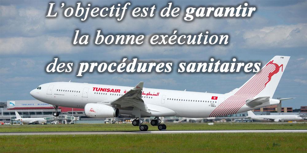 Espacement des horaires d'atterrissage des avions à l'aéroport Tunis Carthage