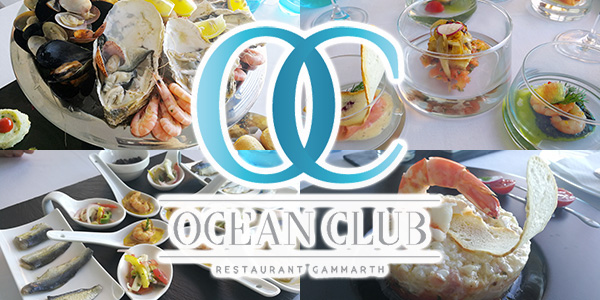 À découvrir, l'Ocean Club un restaurant de spécialités de la mer à Gammarth