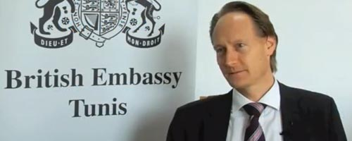 Interview de Son Excellence M.Christopher O'Connor Ambassadeur du Royaume-Uni en Tunisie