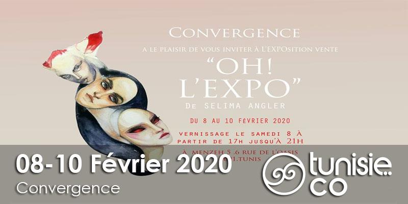 OH l'EXPO de Selima Angler, le 8, le 9 et le 10 Février 2020