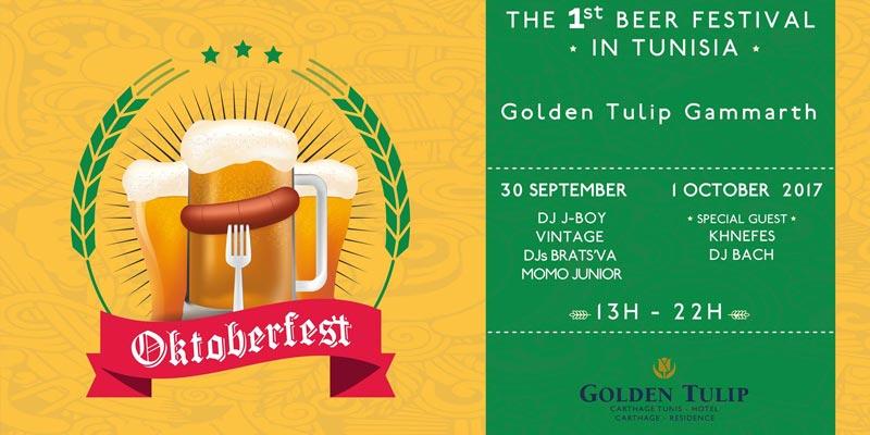 L'Oktoberfest pour la première fois en Tunisie au Golden Tulip Gammarth
