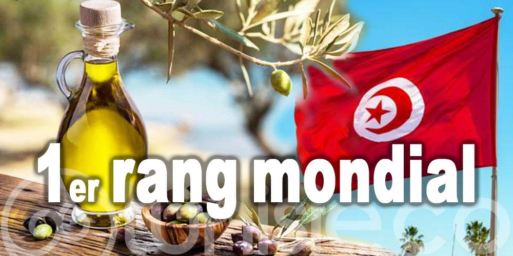 La Tunisie au 1er rang mondial des pays exportateurs d'huile d'olive en dehors de l'UE