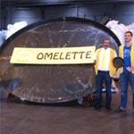 Une Omelette géante au merguez est préparée aujourd'hui à Sousse!