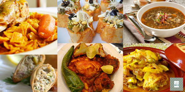 menu tunisien pour invité