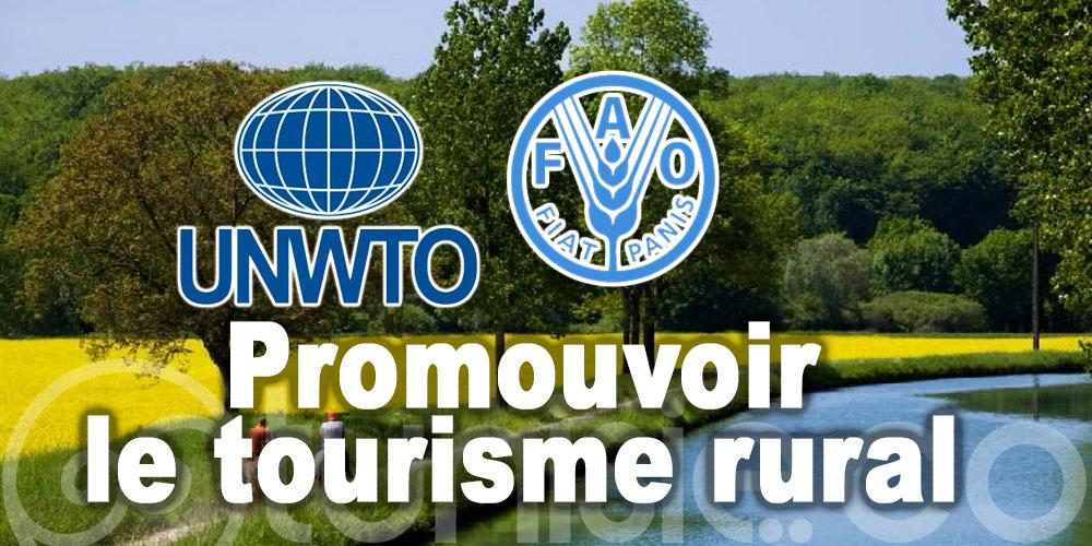 L'OMT et la FAO s'associent pour promouvoir le tourisme au service du développement rural
