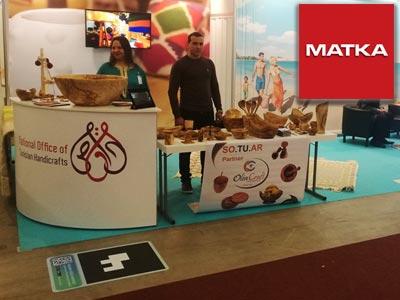 L'artisanat tunisien au salon de tourisme MATKA à Helsinki en Finlande