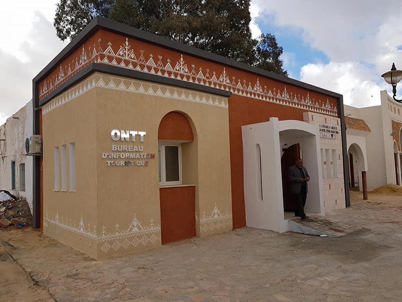 Découvrez le nouveau bureau d'information touristique de l'ONTT à Matmata