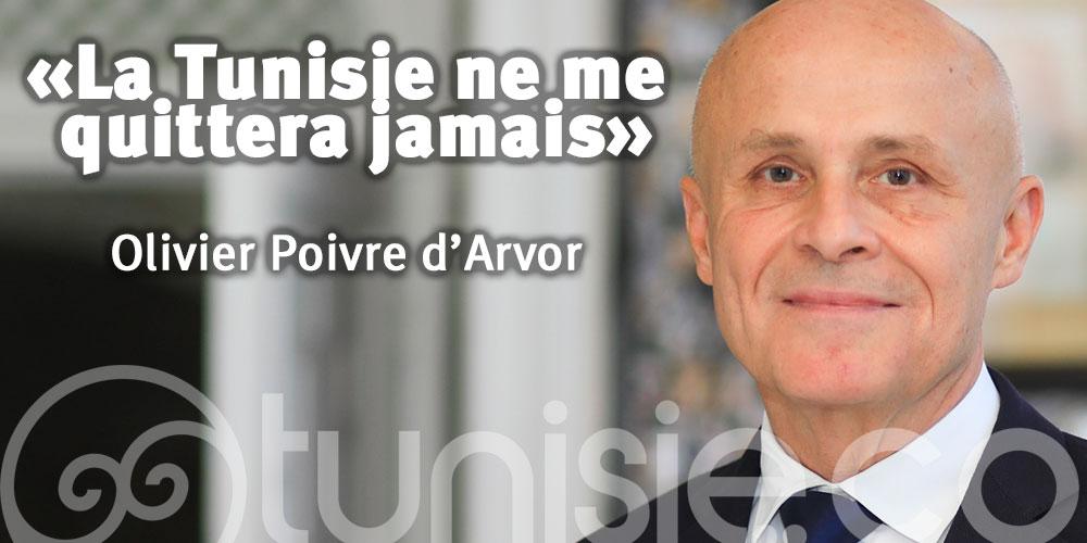 Olivier Poivre d'Arvor : La Tunisie ne me quittera jamais…
