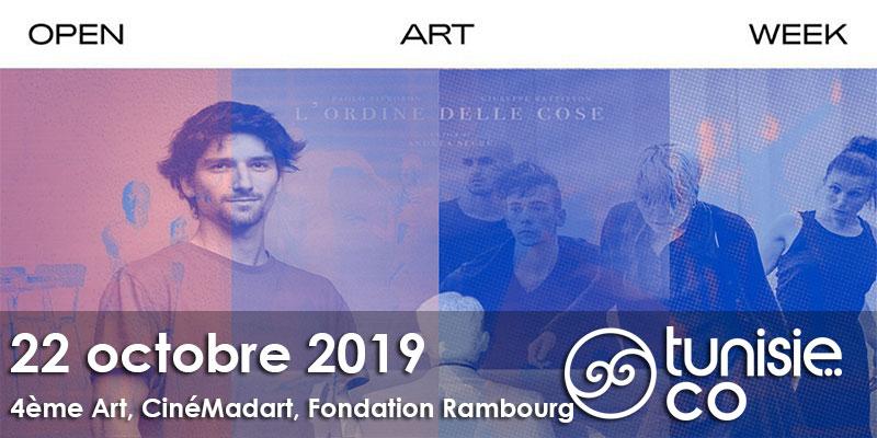 Danse Contemporaine , Musique électronique, Atelier de dessin le 22 octobre à l'Open Art Week