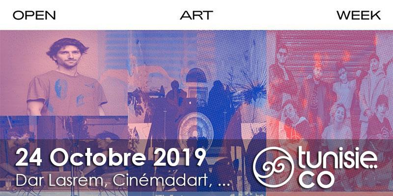 Atelier de deassin, Musique électronique et danse contemporaine le 24 octobre à l'Open Art Week