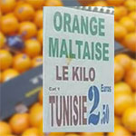 Photo du Jour : Les Oranges tunisiennes arrivent à Paris