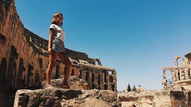 Quand une Ukrainienne admire la Tunisie