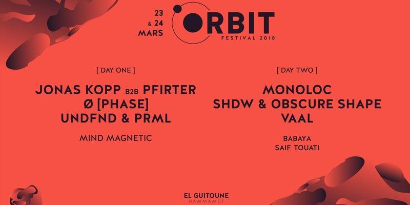 Orbit Festival les 23 et 24 Mars à Hammamet, sous le signe 'The Future Sound'