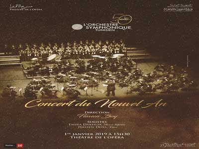 En vidéo : L'Orchestre Symphonique Tunisien présente « Le Concert du Nouvel An »