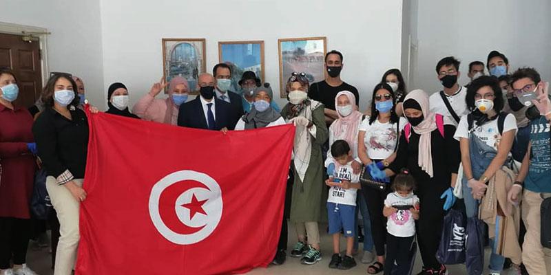 إجلاء 26 مواطن تونسي من العالقين بالمملكة الاردنية الهاشمية