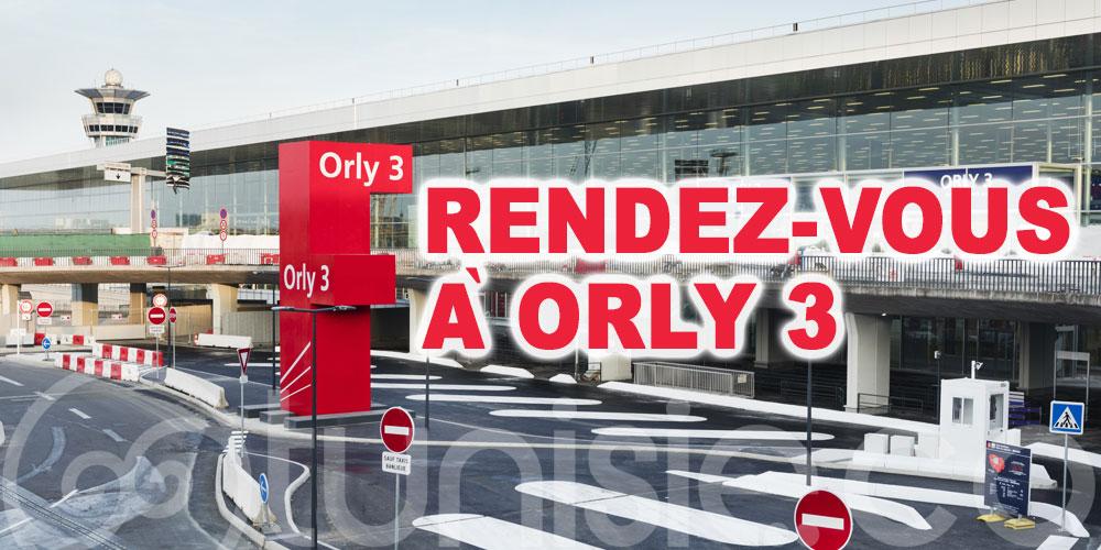 Transfert des vols Tunisair sur Paris à ORLY 3