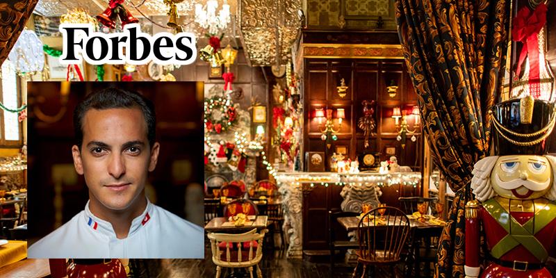 Forbes : Découvrez les délices concoctés par Ali Dey Daly au restaurant Oscar Wilde