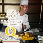 L'Olivero de l'hôtel Regency premier restaurant labélisé 'Ospitalita Italiana'