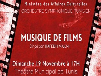 Concert Musique de Films par l'OST le dimanche 19 Novembre