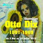 Exposition d'oeuvres d'OTTO DIX du 3 mai au 10 juillet à Dar Cherif-Djerba