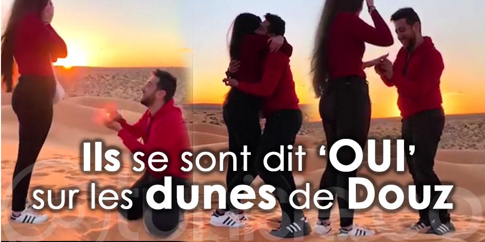 Quand le sud tunisien inspire l'amour !