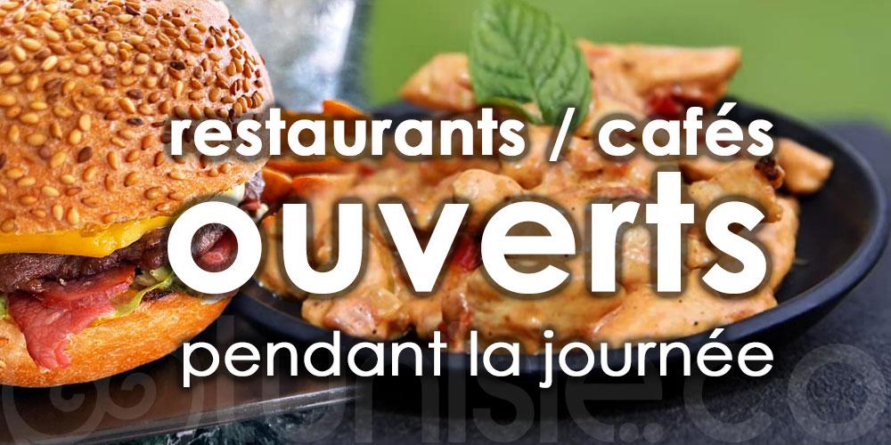 Voici la liste des restaurants ouverts pendant la journée à Tunis
