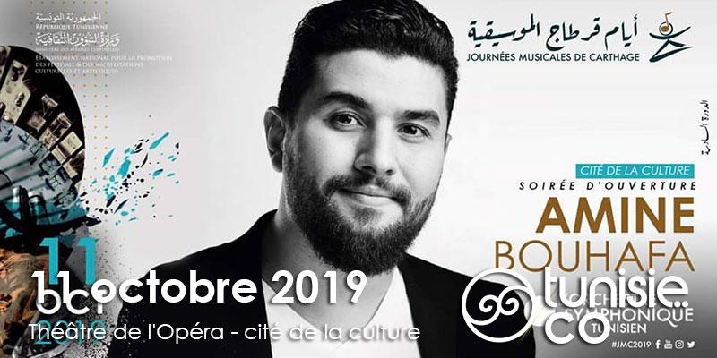 Ouverture JMC :Amine Bouhafa et l'Orchestre Symphonique Tunisien le 11 Octobre