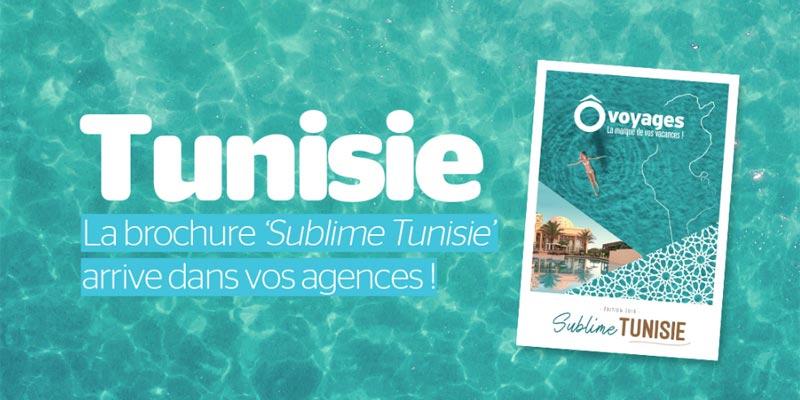 'Sublime Tunisie', une brochure entièrement dédiée à la Tunisie par Ôvoyages