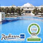 Le Radisson Blu Palace et Blu Ulysse Djerba 'Gagnants Star´ de TripAdvisor