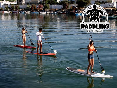 Paddling in Tunisia s'installe au Club nautique de Sidi Bou Said