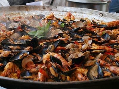 En 5 photos, découvrez le Borghol façon Paella !