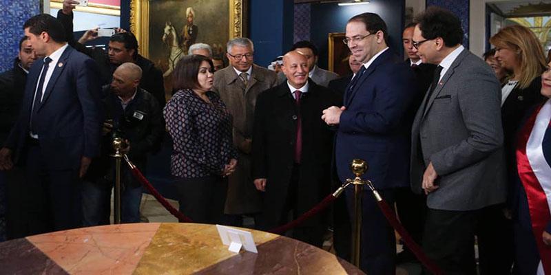 Inauguration du Palais des lettres et des arts