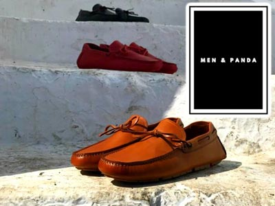 Men & Panda : Des mocassins Homme en cuir, 100% made in Tunisia