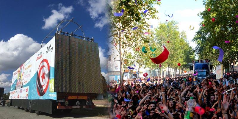Découvrez les premières photos du Char Tunisien à la Techno Parade à Paris