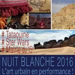 Tataouine à Paris pour les Nuits Blanches des 1er et 2 octobre 2016