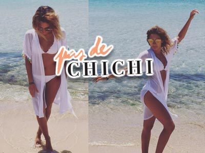 Cet été, optez pour un look de plage stylé avec les kimonos et caftans Pas de Chi Chi