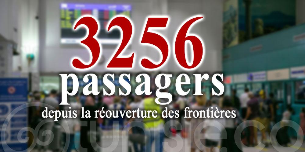 L'aéroport de Tunis-Carthage a accueilli 3256 passagers durant les 3 premiers jours