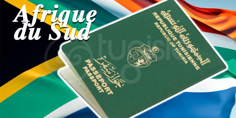 L'Afrique du Sud supprime les visas pour les Tunisiens