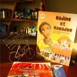 Lecture des aventures de Nadine et Patatouf, dimanche 9 février, à la Passion du Libr'Ere