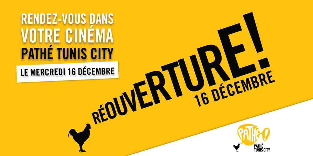 Pathé Tunis City rouvre enfin ses portes !