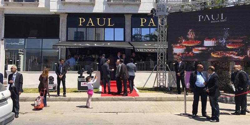 En photos : Inauguration de la boulangerie PAUL à la Marsa